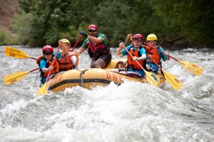 Troop goes Whitewater Rafting @ Sierra South | Kernville | California | United States
