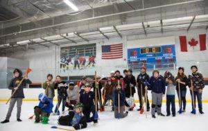 Troop 134 goes to BroomBall @ Lakewood Ice @ The Rinks - Lakewood Ice | Lakewood | California | United States